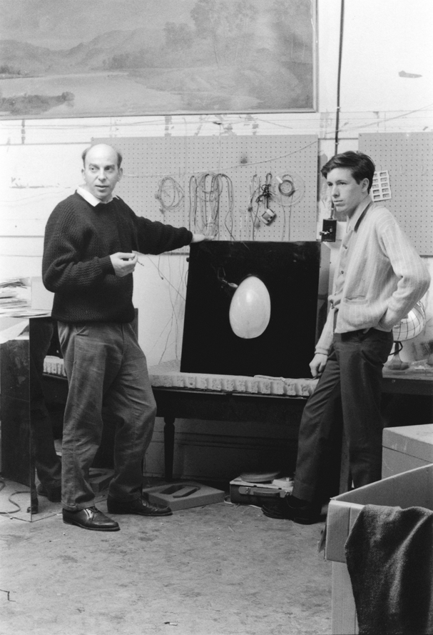 Tom Osborne and his Fiber Optic Egg