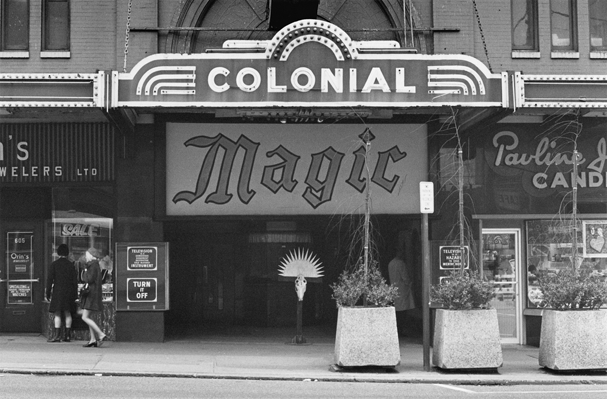 The Al Neil Trio performing at the Colonial Magic Theater