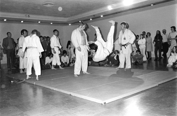 Judo demonstration at the opening night of the Dome Show
