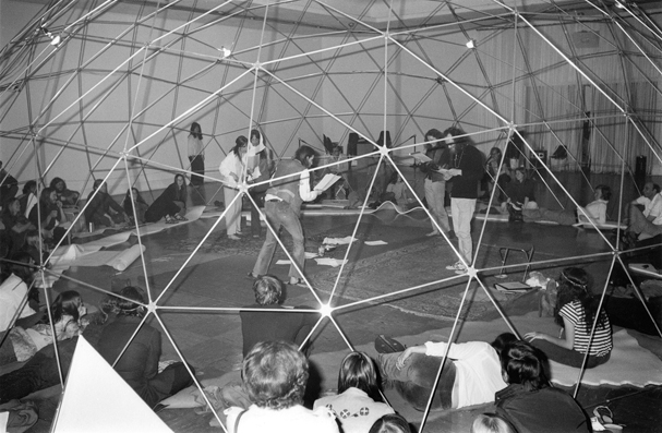 Poetry Front: Poetry Play in large dome
