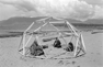 Geodesic Dome Construction on Kitsilano Beach